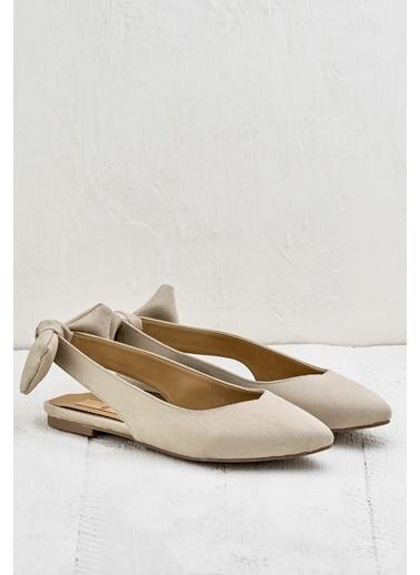 Elle Süet Ayakkabı Bej